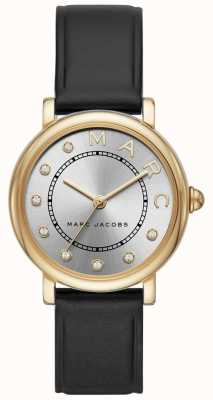 Marc Jacobs レディースmarc jacobs classic watchブラックレザー MJ1641