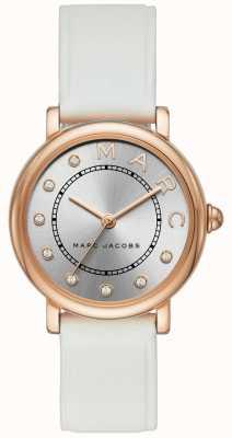 Marc Jacobs レディースmarc jacobsクラシックウォッチレッドレザー MJ1634