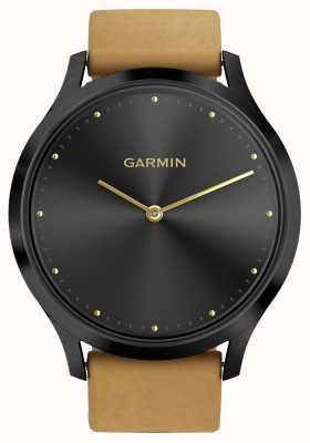 Garmin Vivomove hrアクティビティトラッカータンストラップ(およびシリコンストラップ) 010-01850-00