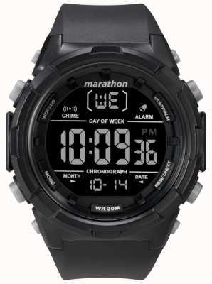 Timex メンズ50mmブラックケースブラックストラップ TW5M22300