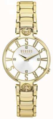 Versus Versace レディースKristenhof Gold Dial Gold Pvdブレスレット SP49060018