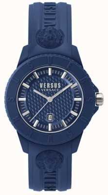 Versus Versace 東京rブルーダイヤルブルーシリコン SPOY210018