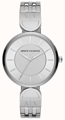 Armani Exchange レディースドレス時計ステンレススチール AX5327