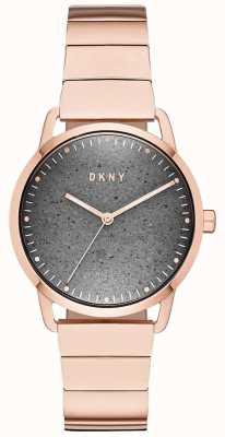 DKNY Dknyレディースグリーンポイント腕時計ローズゴールド NY2757