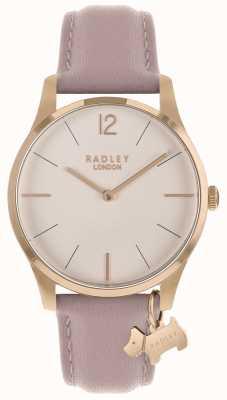 Radley レディース腕時計ローズゴールドケースコブウェブストラップ RY2710