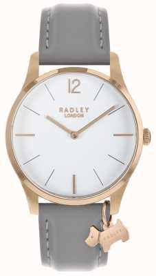 Radley レディース腕時計ローズゴールドケースアッシュストラップ RY2712