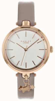 Radley レディース腕時計cobwebレザーストラップローズゴールドケース RY2728