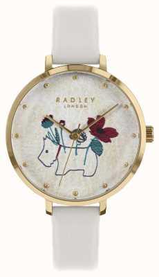 Radley レディースは花と犬のプリントチョークストラップを見る RY2684