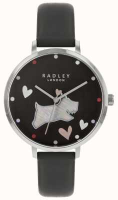 Radley レディース腕時計ブラックドッグインクストラップ RY2679