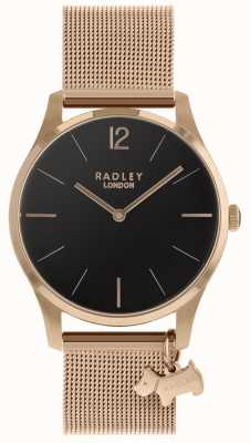 Radley レディース腕時計ローズゴールドメッシュストラップ RY4356