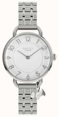 Radley レディース腕時計シルバーオープンショルダーブレスレット RY4343