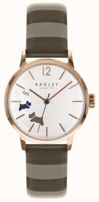 Radley レディースデータ犬バラゴールドサテンダイヤル RY2674