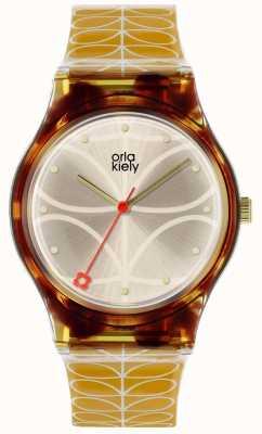 Orla Kiely Orla kielyレディースボビー腕時計の棘 OK2222