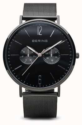 Bering クラシック|黒い磨かれた| 14240-223