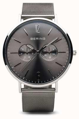 Bering クラシック|ポリッシュシルバー|男性用 14240-308