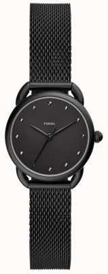 Fossil レディーステーラード腕時計ブラックメッシュ ES4489