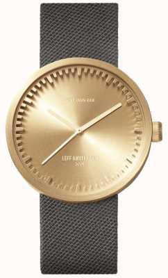 Leff Amsterdam チューブ時計d38 | |ダウンロードフリーの写真グレーストラップ LT71025