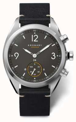 Kronaby Apexスマートウォッチ|ブラックストラップ| a1000-3114 S3114/1