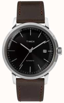 Timex マーリン自動|ブラウンレザーストラップ| TW2T230007U