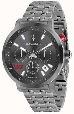 Maserati メンズgt 44mm |グレーダイヤル|グレーステンレススチールブレスレット R8873134001