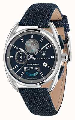 Maserati Trimarano yatchタイマー41 |ブルーダイヤル|ブルーファブリックストラップ R8851132001