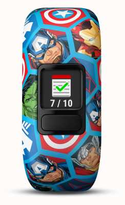 Garmin Vivofit jr2 marvel avengersストレッチストラップ 010-01909-02