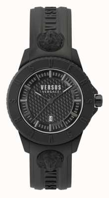 Versus Versace 東京都|ブラックダイヤル|ブラックシリコンストラップ VSP0Y2318