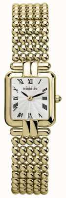 Michel Herbelin レディース|クラシックゴールド|パールの腕時計 17473/BP08