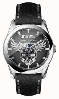 Harley Davidson メンズ115周年限定版腕時計 76A160