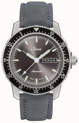 Sinn | 104 |スエードグレーレザーストラップ 104.014 SUEDE GREY