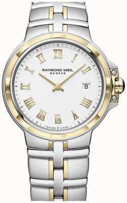 Raymond Weil パシフィールツートーン|金とステンレス鋼|メンズウォッチ 5580-STP-00308