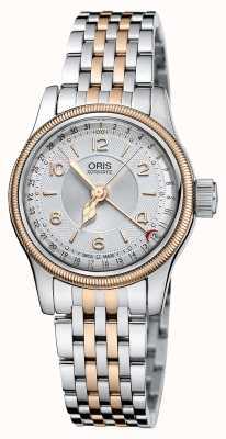 Oris ビッグクラウンオリジナルポインター日付29ミリメートルレディース腕時計 01 561 7695 4361-07 8 14 32