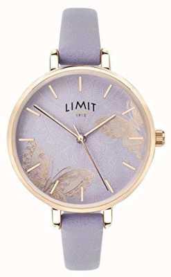 Limit |レディースシークレットガーデンウォッチ紫蝶ダイヤル|ベクターイラスト| CLIPARTO 60015