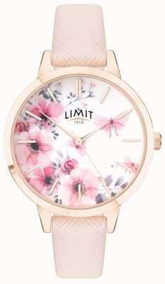 Limit |レディースシークレットガーデン|写真レディースシークレットガーデンピンク&ホワイトフローラルダイヤル|ベクターイラスト| CLIPARTOピンクストライプ 60023