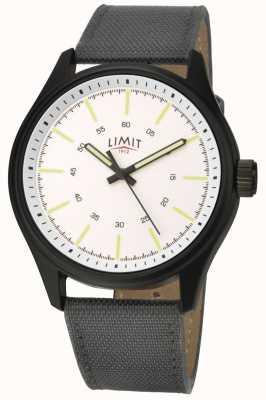 Limit |メンズ|黒ナイロンストラップ|ホワイトダイヤル| 5949.01