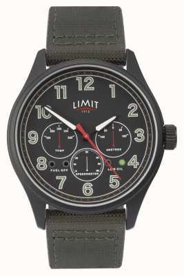 Limit |メンズブラックウォッチ| 5969.01