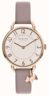 Radley レディース|ロンドンホテル|ピンクのレザーストラップ RY2544