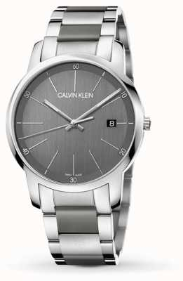 Calvin Klein |メンズシティエクステンションウォッチ|ツートーンステンレス鋼| K2G2G1P4