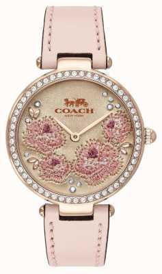 Coach |レディースパークウォッチ|ピンクレザーストラップ| 14503285