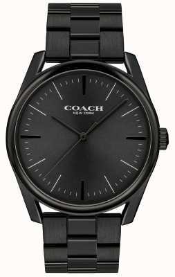 Coach メンズモダンラグジュアリーブラックステンレス 14602403