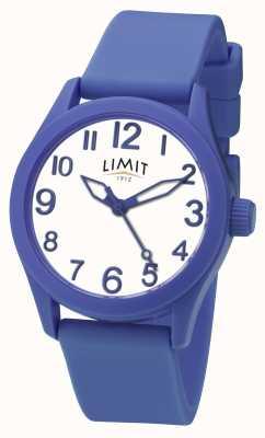 Limit |ブルーシリコンストラップ|ホワイトダイヤル| 5719
