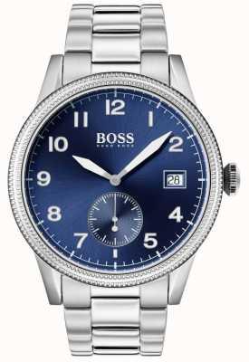Boss |メンズレガシーウォッチ|ステンレス鋼ブルーダイヤル| 1513707