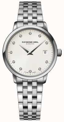 Raymond Weil |レディーストッカータダイヤモンドウォッチ| Jewelry-stores.co.uk 5988-ST-40081