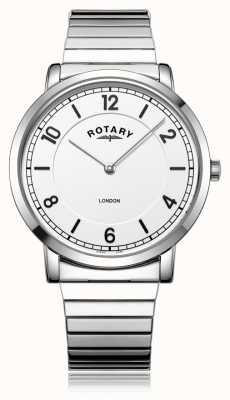 Rotary |紳士ステンレススチールブレスレット| Jewelry-stores.co.uk GB02765/18