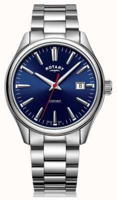 Rotary |紳士ステンレススチールブレスレット| Jewelry-stores.co.ukブルーダイヤル| GB05092/53
