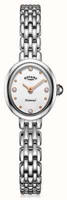 Rotary |レディースステンレススチールブレスレット| Jewelry-stores.co.uk LB05150/02/D