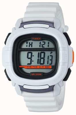 Timex |ブーストショックホワイトデジタル|ベクターイラスト| CLIPARTO TW5M26400SU