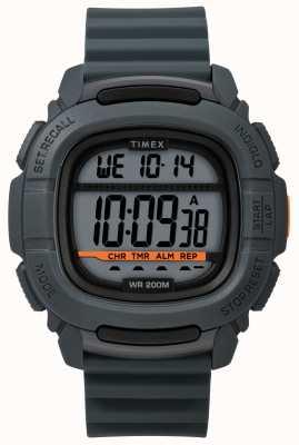 Timex |ブーストショックグレーデジタル|ベクターイラスト| CLIPARTO TW5M26700SU