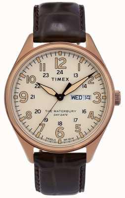 Timex |ウォーターベリー|伝統的な|デイデイトウォッチ| TW2R89200D7PF