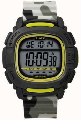Timex |ブーストショックブラック/ライム/カモデジタル| TW5M26600SU